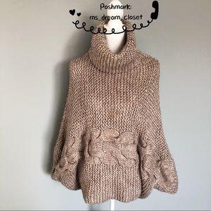 Chic Sweater Cape